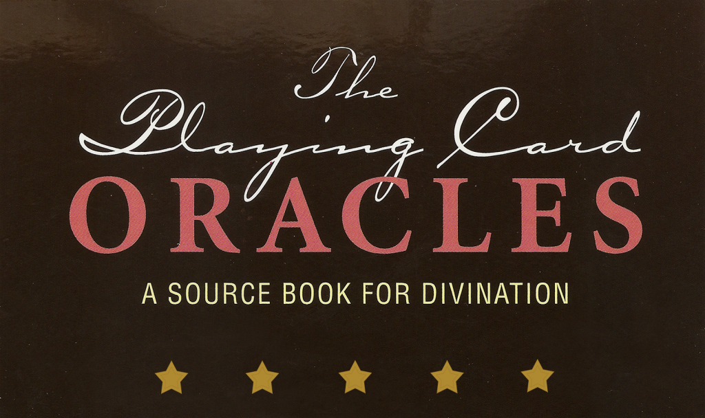 the playing card oracles book for playing card reading and cartomancy