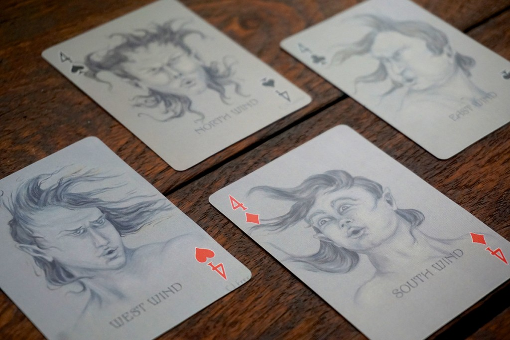 Oracle Images Alchemy Edition Playing Card Oracles Deck, playing cards for card reading and cartomancy, all 54 cards are illustrated