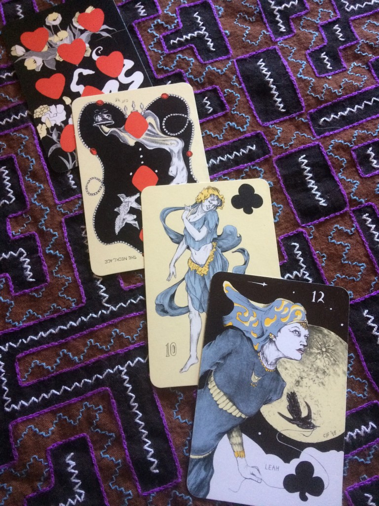 New Moon Playing Card Oracles Cards