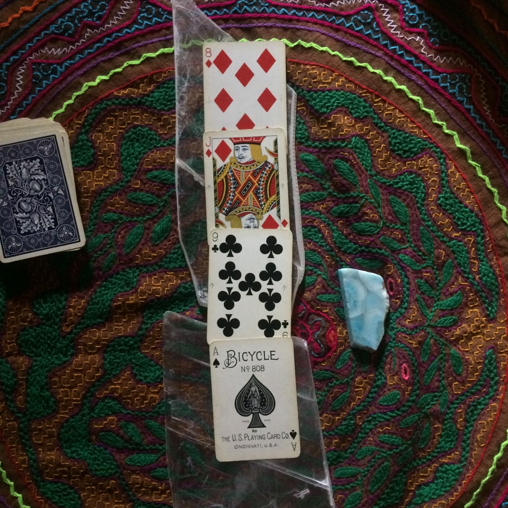 Oracle Playing Cards Forecast