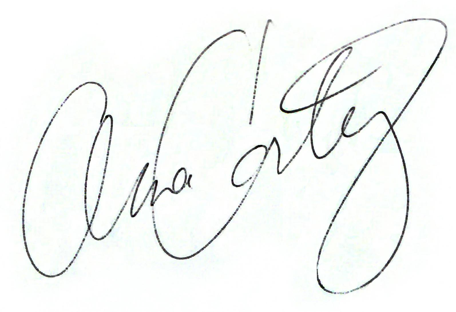 ana cortez signature
